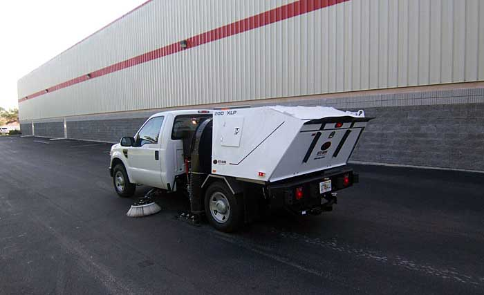 Photos Of Our Sweeping Equipment